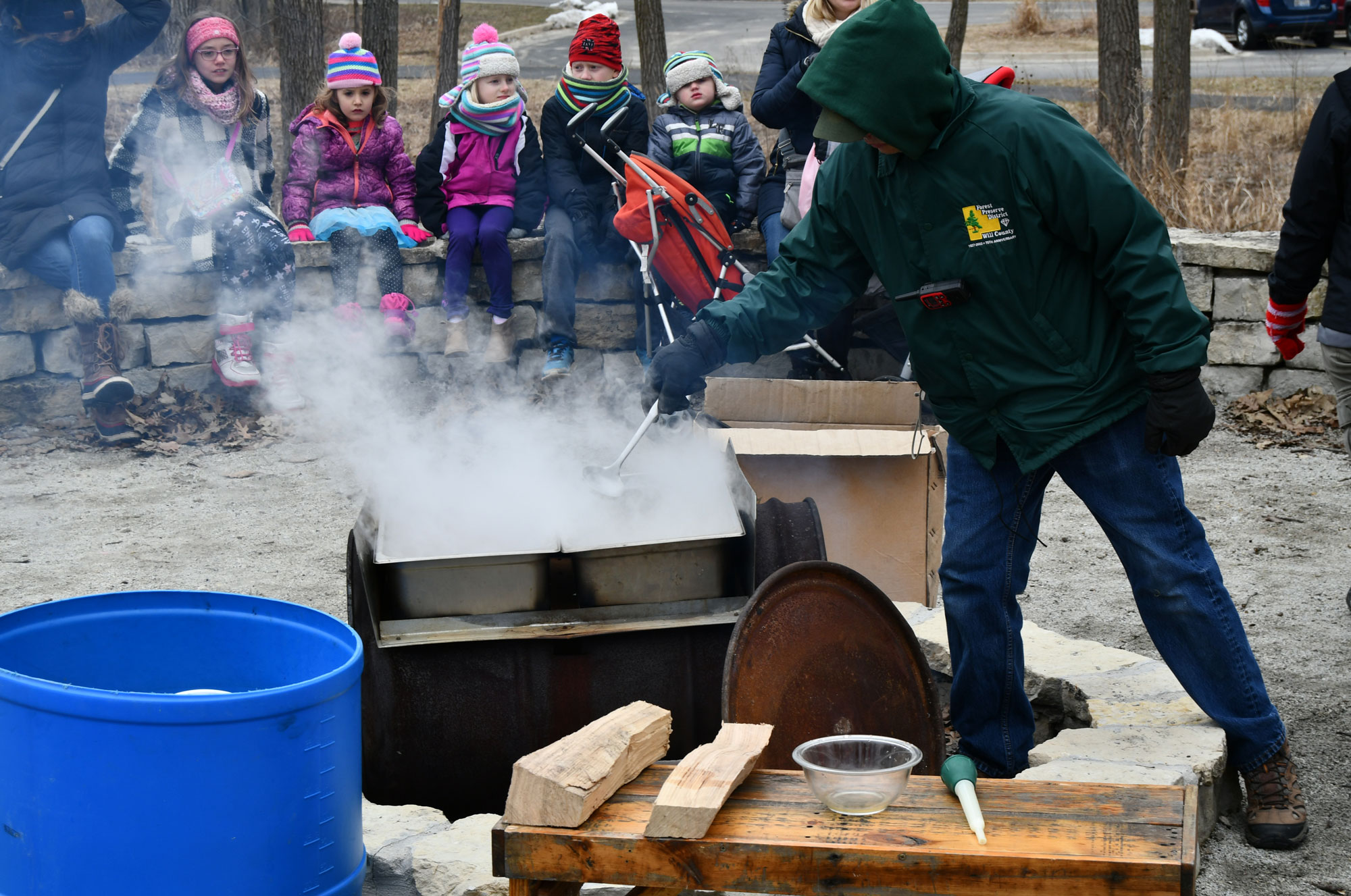 Photo for: Field Trip Offers Students More Than Just the Sweet Taste of Syrup
