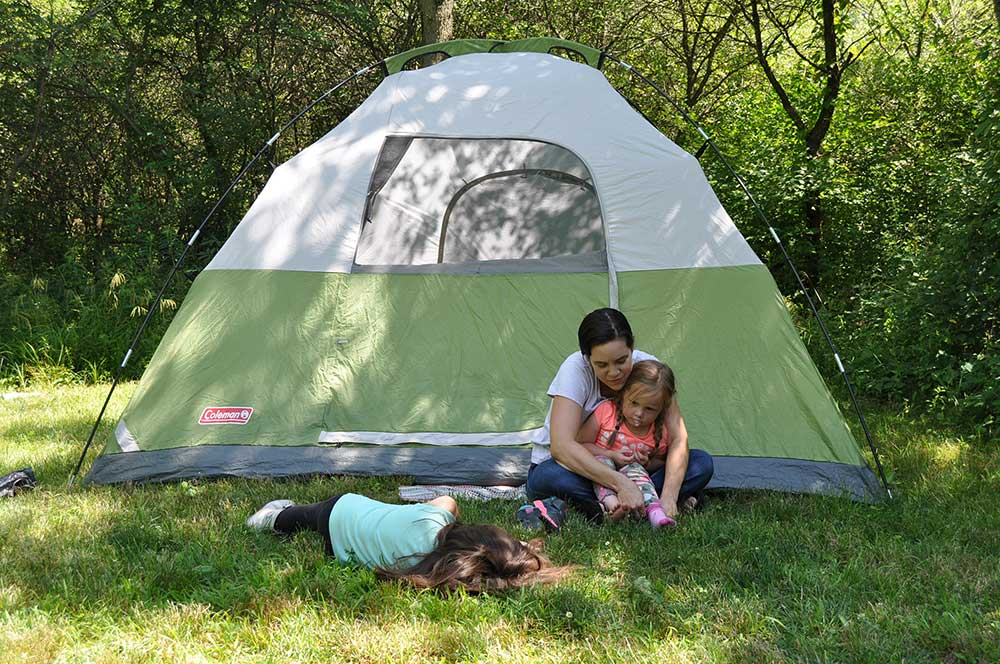 Photo for: Forest Preserve Offers Year-Round Camping