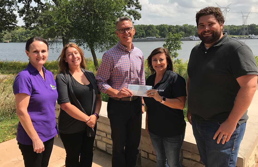 Photo for: Four Rivers Receives Donation from ONEOK
