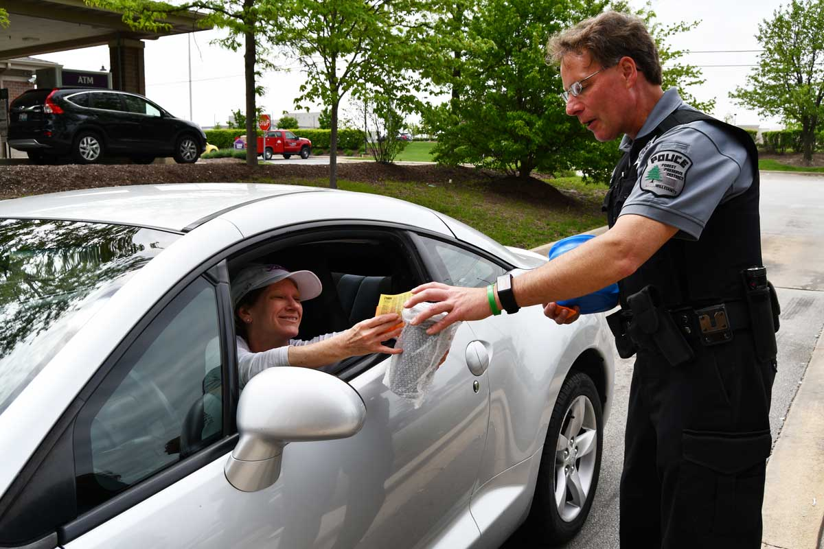 Photo for: Forest Preserve Police Raise Funds for Special Olympics