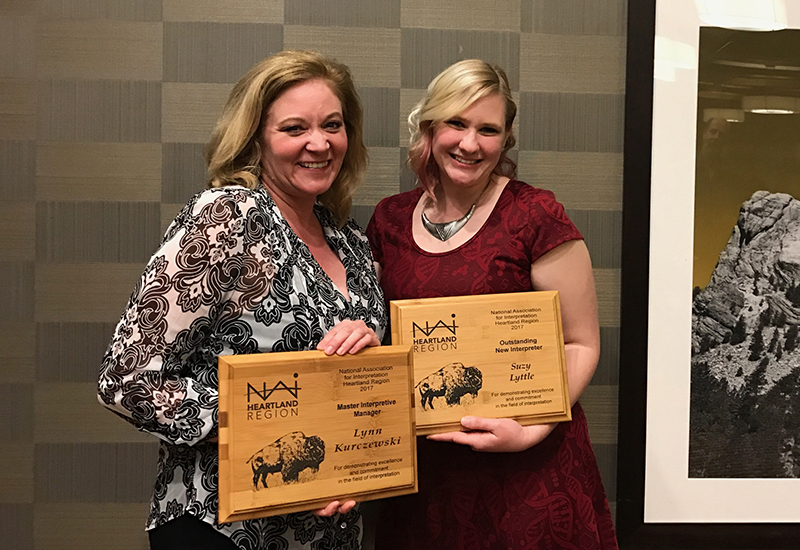 Photo for: Forest Preserve Employees Win Interpreter Awards