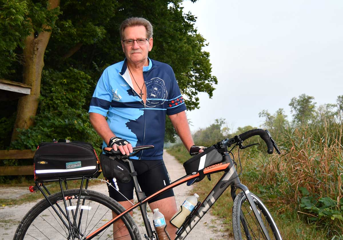 Photo for: Annual Trail Trek Keeps Joliet Bicyclist on Track