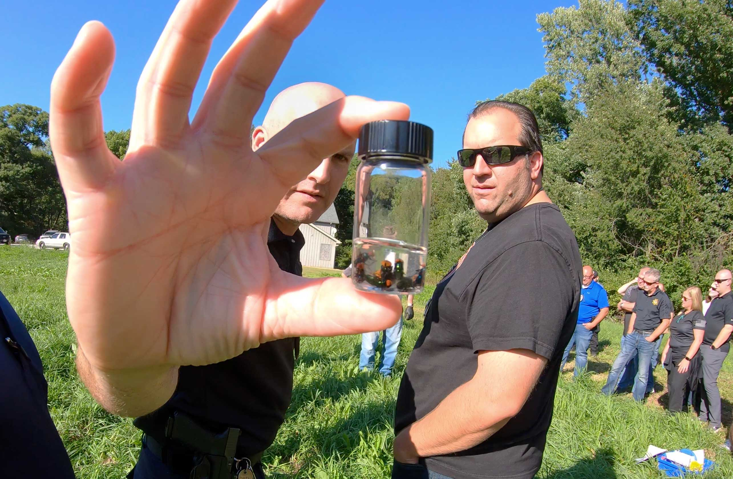 Forest Preserve Serves As Forensic Entomology Classroom For Law Enforcement Forest Preserve District Of Will County