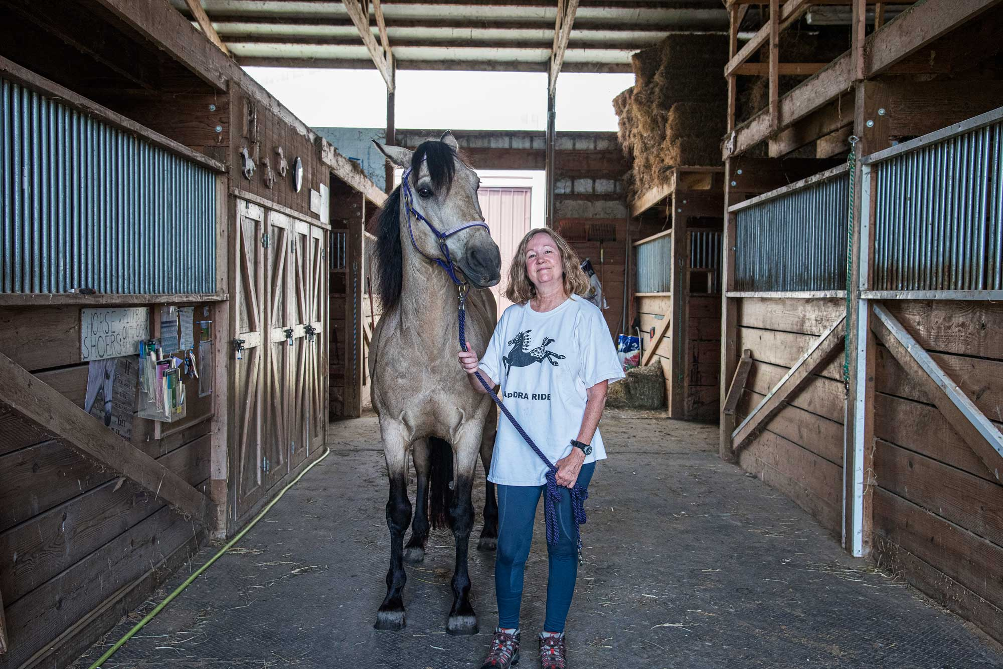 Photo for: Volunteer Spotlight: Karen Tellef Keeps Watch on Horseback