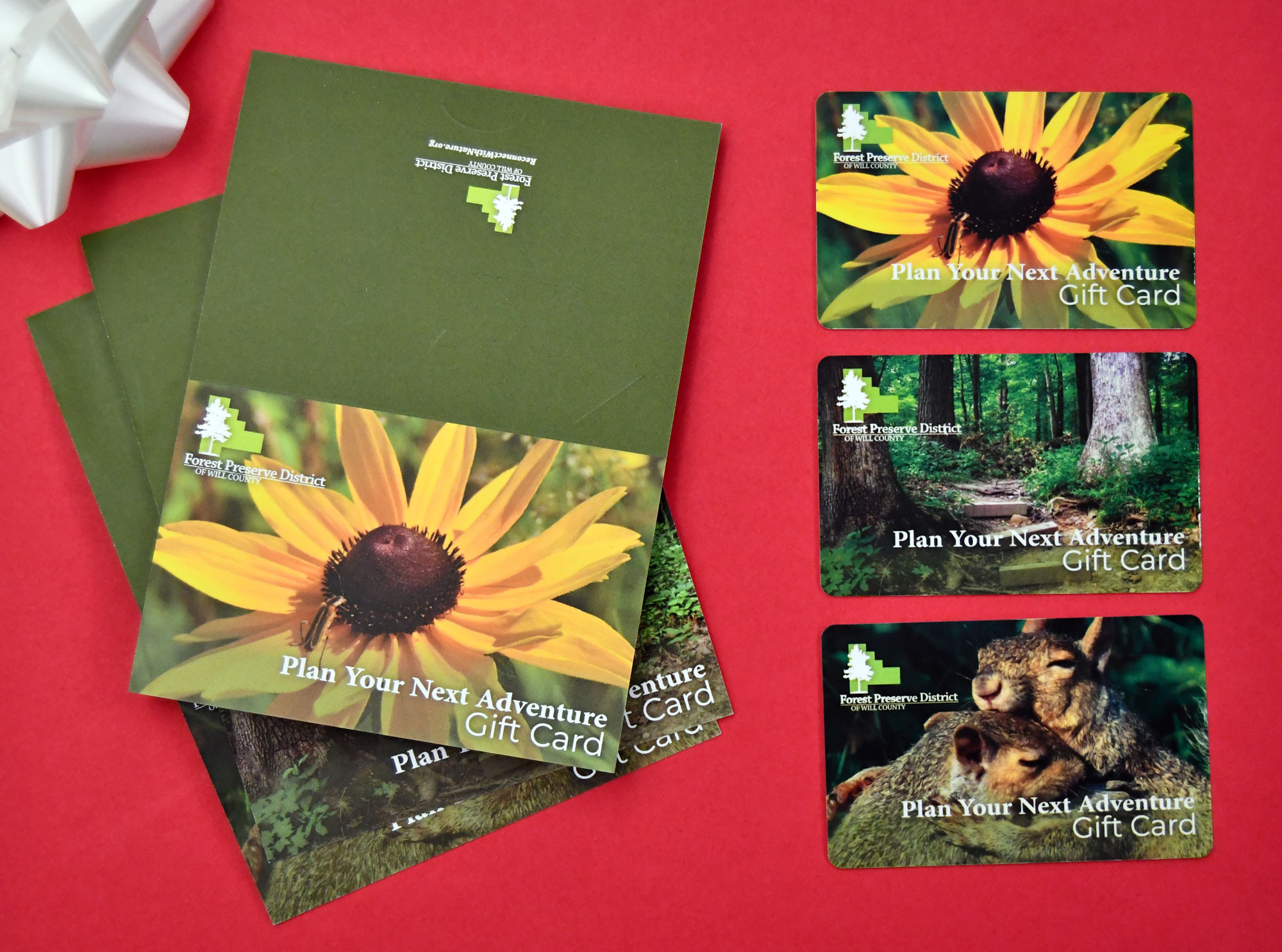 Photo for: Gift Cards Now Available for Forest Preserve Programs, Permits and Rentals