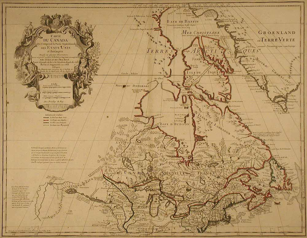 Photo for: 234-Year-Old Map Donated to Isle a la Cache Museum