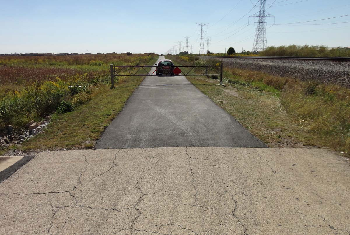 Photo for: Normantown Road Finding New Life as Hiking, Biking Trail