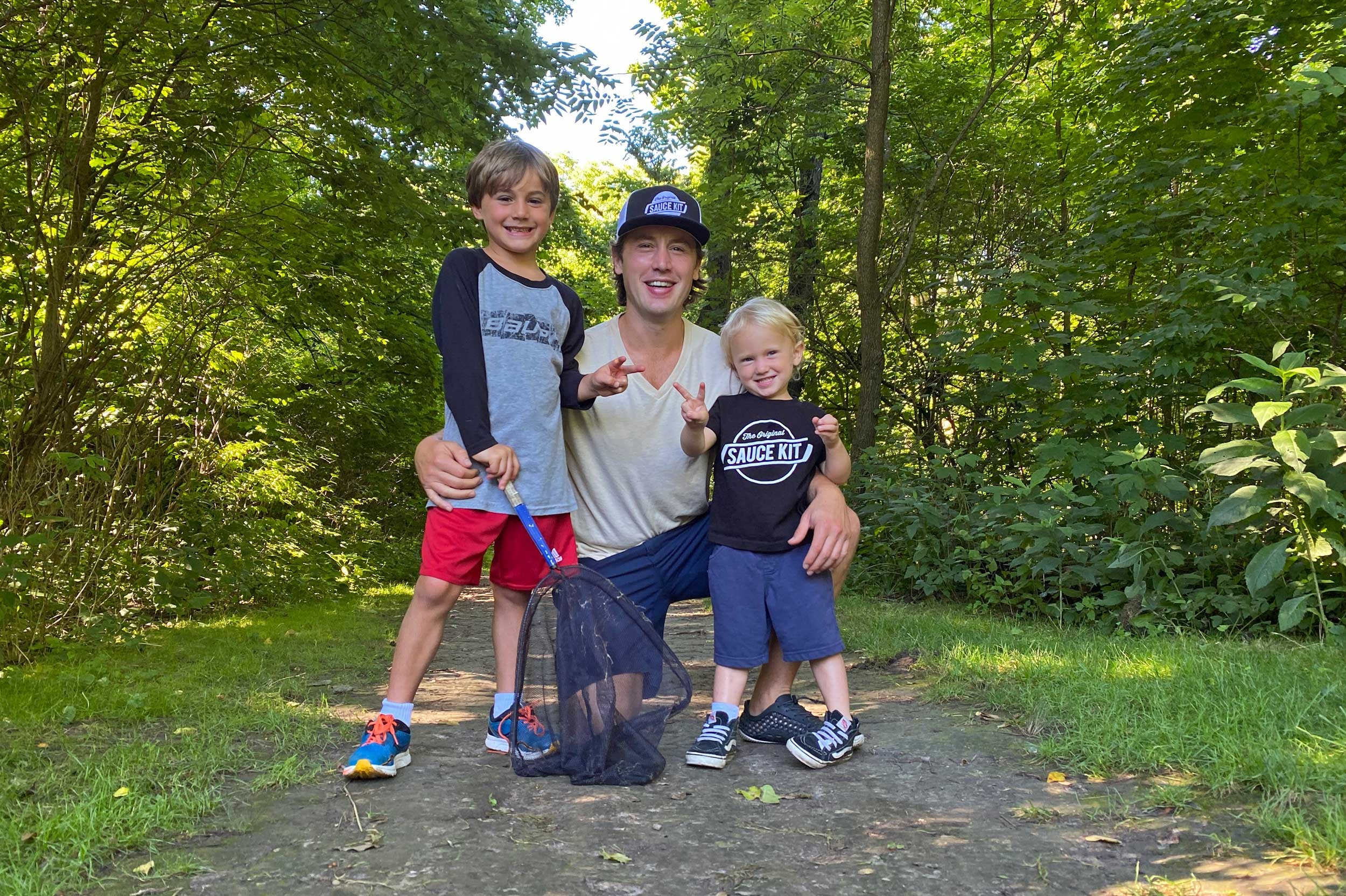 Photo for: Stellato Family's 'Happy Place': Loving Nature and Removing Litter at Hammel Woods